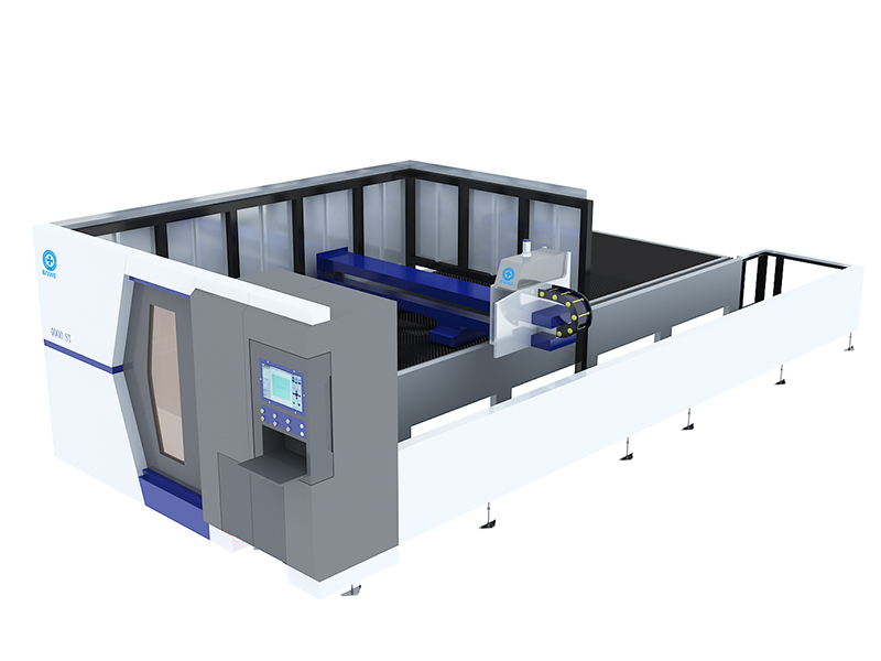 2000W Closed Type Metal Sheet and Tube Laser Cutting Machine