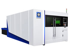 2000W Dual Drive Closed Type CNC Fiber Laser Cutting Machine