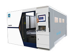 4000W/5000W High Speed Fiber Laser Cutting Machine