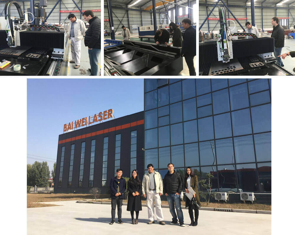 Argentine Customers Visit Our Factory