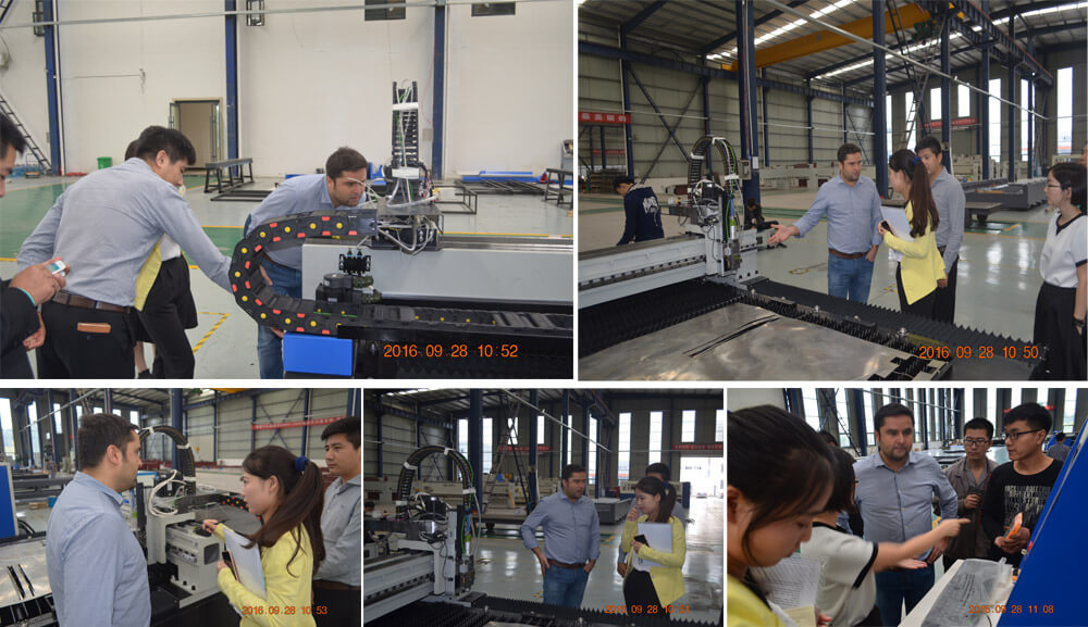 Russian Customers Visit Our Factory